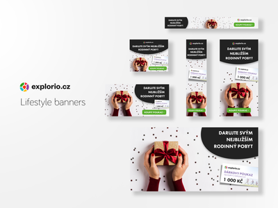 Explorio.cz Lifestyle banners social banner banner design banner ad banners
