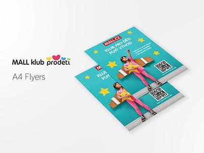 Mall klub Prodeti - A4 Flyers flyer design flyers
