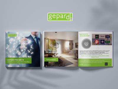Gepard Premium Brochure print design print brochure design brochure