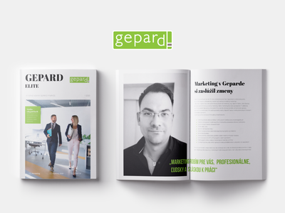 Gepard Elite Magazine a4 brochure magazine design magazine cover magazine