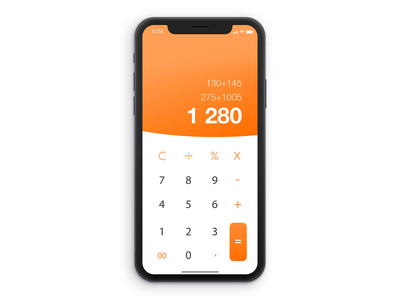 Daily UI - 004 Calculator daily ui 004 dailyui