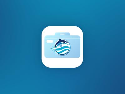 Delphinus Photo Memories App Icon