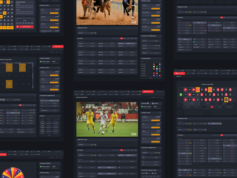 Sports betting UI bets icons illustration graphic design experience interface user ux ui betting sport games casino