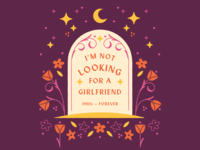 I'm not looking for a girlfriend