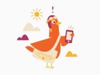 Multitasking carrier pigeon