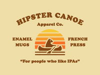 Hipster Canoe Apparel Co.