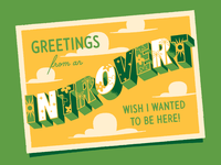 Greetings from an Introvert!