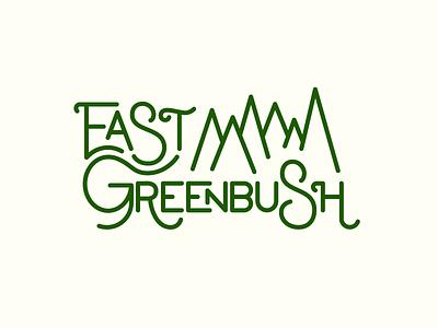 East Greenbush Geofilter hand lettering monoline lettering east greenbush geofilter snapchat