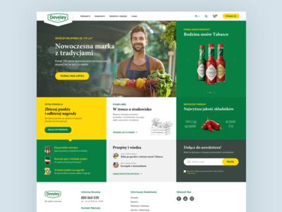 Develey Homepage