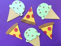Pizza & Ice Cream