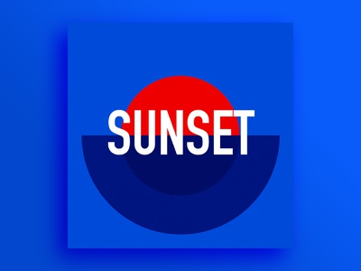 Playlist cover music playlist spotify minimalist typography cover poster sunset