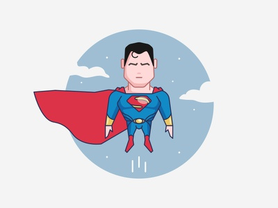 Superman comics marvel superheroes illustration design character
