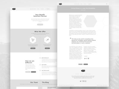 BBD Wireframe designer type typography blog design blog wordpress website strategy wireframing wireframe