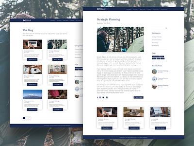 Stellar Management blog page minimalist camp rustic camping responsive wordpress ottawa blog