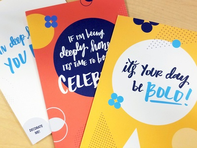 Company Values Greeting Cards ✉🎉