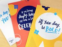 Company Values Greeting Cards ✉🎉
