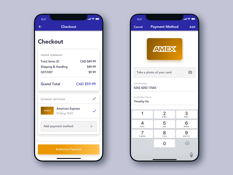 Daily Ui #2 - Checkout credit card iphone x challenge ui daily checkout daily ui