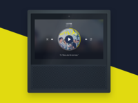 Echo Show Audio Player Concept