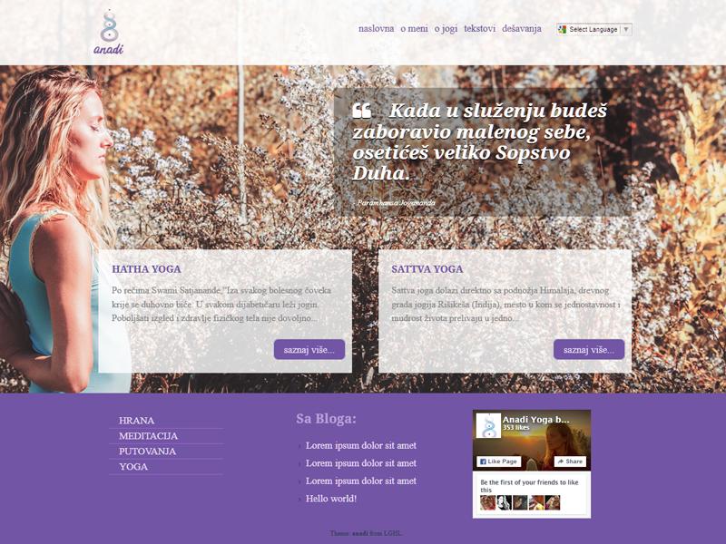anadi - wordpress theme v2 responsive minimal theme ux web design theme wordpress wp