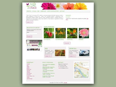 Our Flowers WP Theme