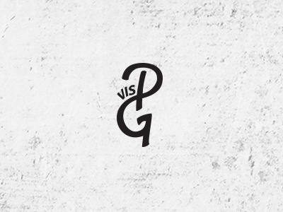 Perfect Game  band. negative space music pg monogram