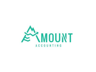 Amount  brokerage agency bookkeeping logo consulting data economics stocks logo designer finance accounting a