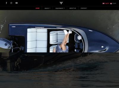 Tiamat-Boats-Site css ui boats boating webdesign black js html wordpress boat speed boat