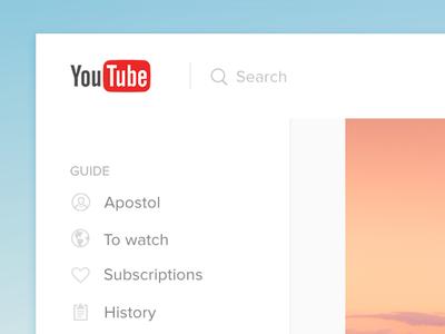 Youtube Light Redesign