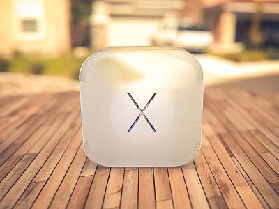 Yosemite Baloon baloon nylon yosemite osx apple icon ios iphone