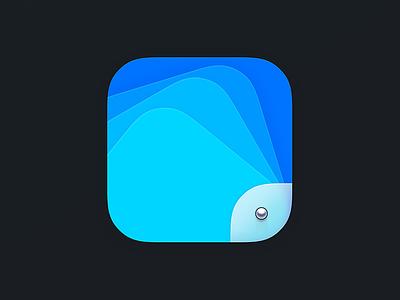 Portfolio Icon blur iphone apple ios icon portfolio