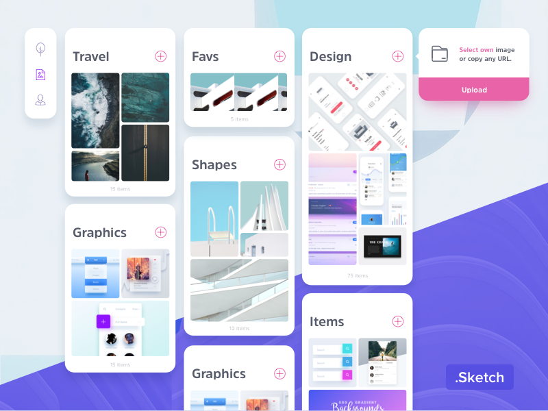 Download Freebie – Pinboard Web UI