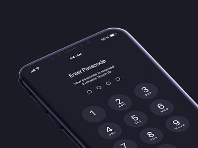 iPhone X Pre - Mockups 3d phone mobile new apple jet dark black mockup concept 8 iphone