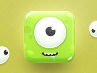 Green monster icon