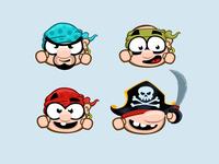 Funny pirates