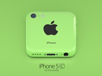 iPhone 5c green icon