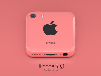 iPhone 5c red icon iphone 5c apple icon