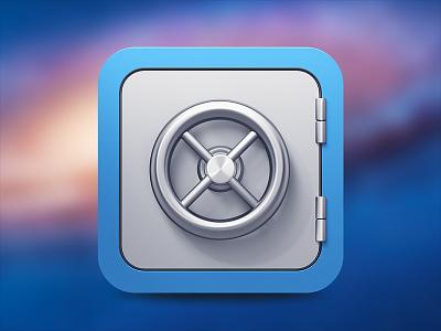 Silverlock icon concept icon osx silverlock app apple vault mac silver lock