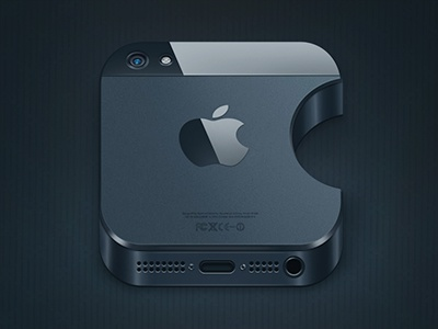 how to transfer from one iphone to another iphone 5 icon by alexandr nohrin dribbble dribbble 4670