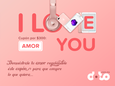 St. Valentine Coupon for Tech Online Store (FB)