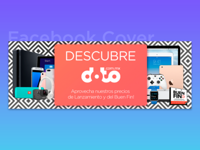Facebook Cover for Online Tech Store