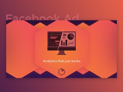 Facebook Ad - Web & Mobile Analytics (Heap)