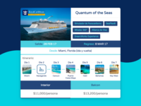 Cruise Booking for Travel Agency
