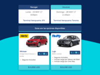 Car Rental Email for Travel Agency