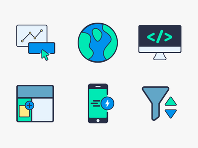 My First Adventure in Icon Design! - Part 3 filled line filtering acelerated mobile widgets developer click tracking world products design icons icon