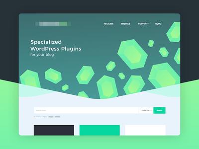 Homepage Web Header