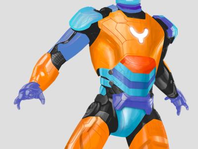 My Super Hero illustration character superhero hero super iron man