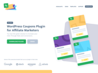 Website Header - WP Coupons Plugin