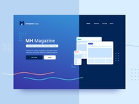 Website Header - Themes Marketplace