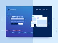 Website Header - Themes Marketplace