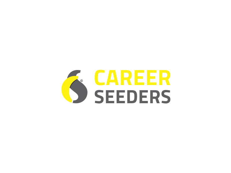 Career Seeders Logo identity design graphic design visual design branding dribbble carrer design logo